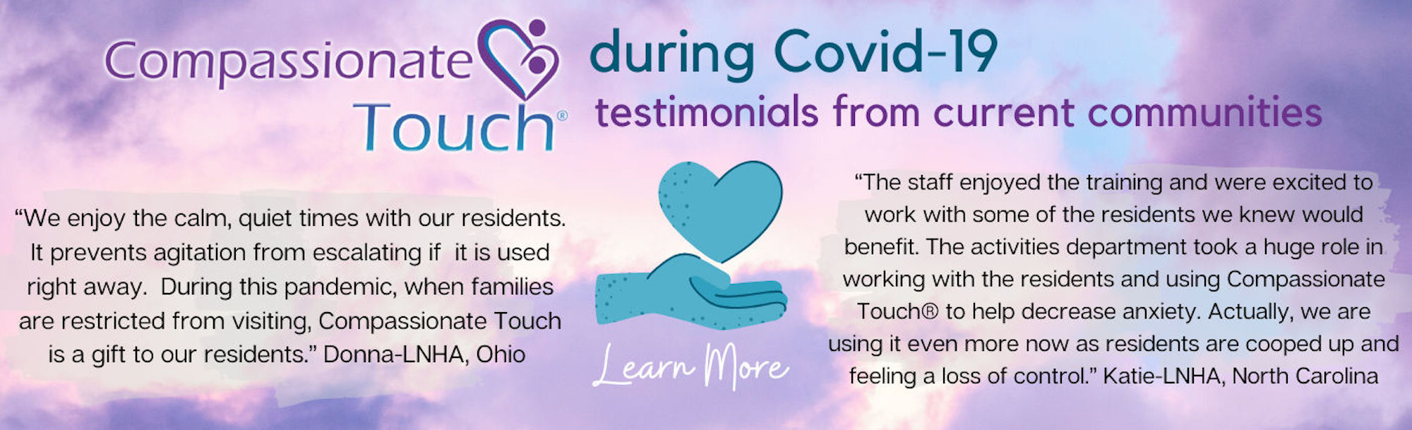 Compassionate Touch During COVID-19